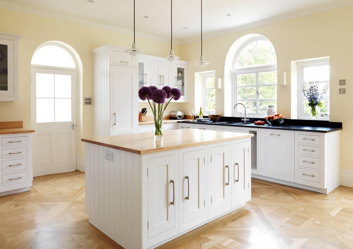 Rustic Kitchen Cabinets - Awsome White Rustic Kitchen