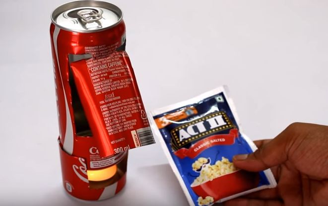 Cheap popcorn machine DIY