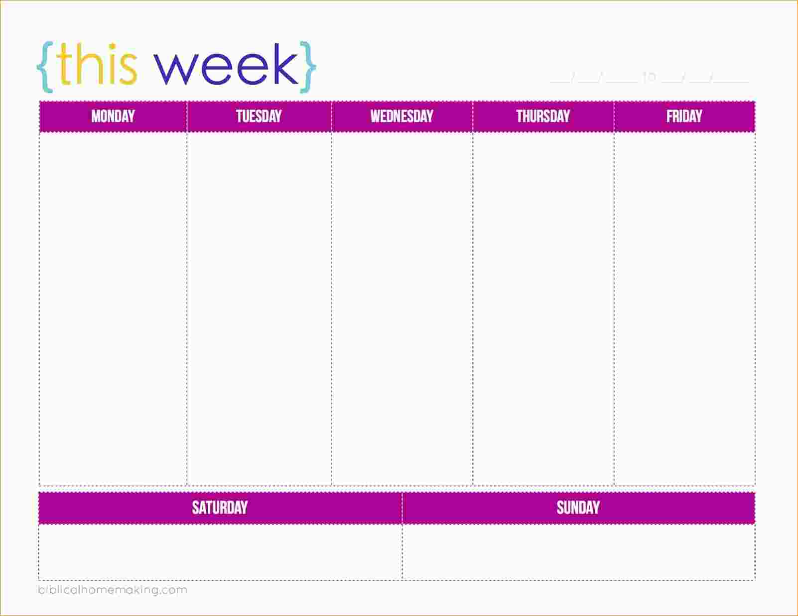Daily Planner Printable - Daily Organizer Template