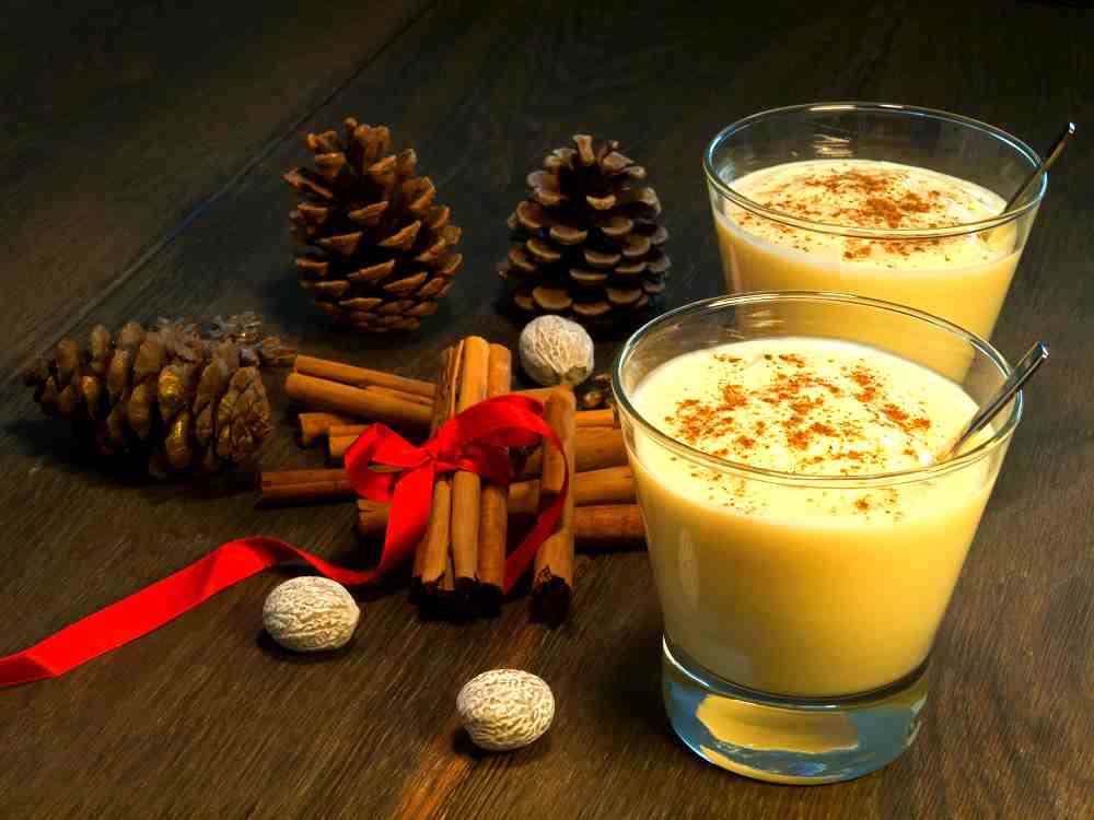 Christmas Punch - Eggnog punch