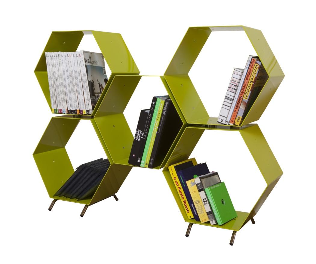 Hexagonal Wall Shelf - Librerie shelf