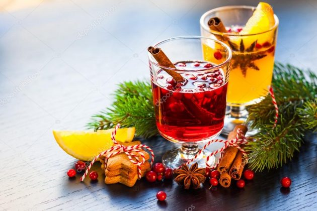 Christmas Punch - Orange and cranberry punch