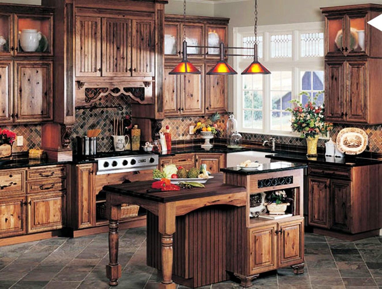 Rustic Kitchen Cabinets - Rustic Kitchen Design Inspiration