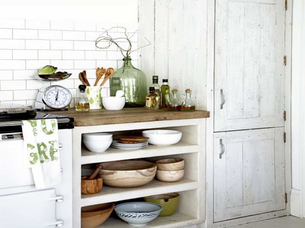 Rustic Kitchen Cabinets - Rustic Style Open Kitchen