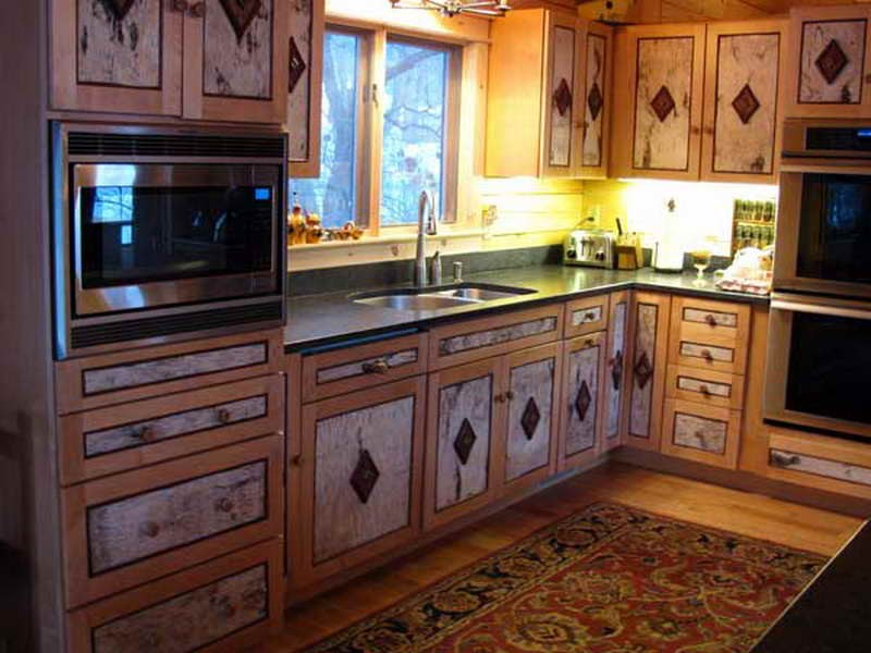 Rustic Kitchen Cabinets - Simple Rustic Kitchen