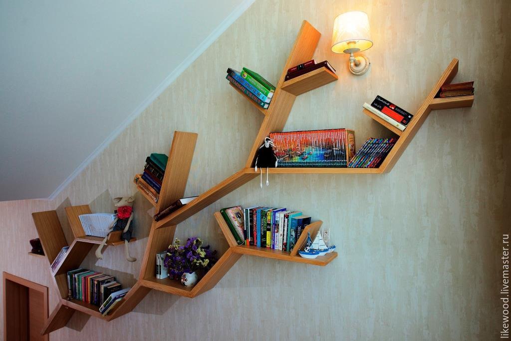 Hexagonal Wall Shelf - Unique hexagonal wall shelf