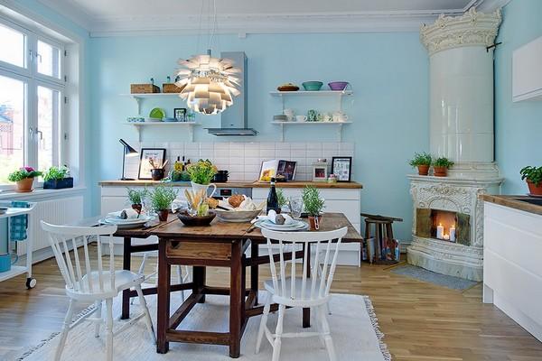 dark blue kitchen walls 11