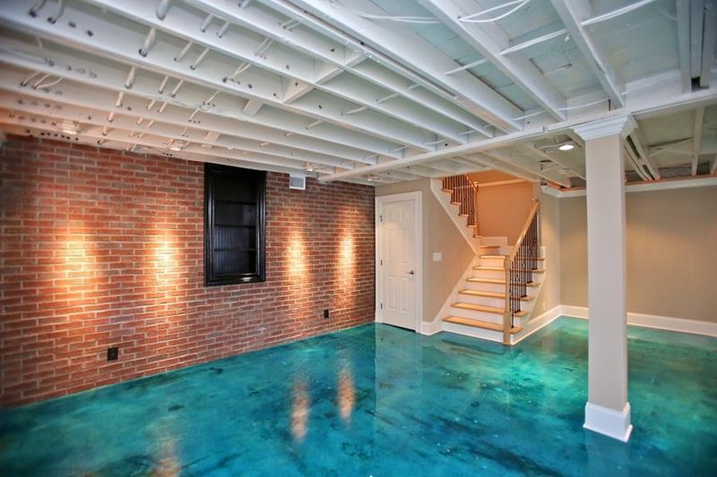 best finished basement ideas 18