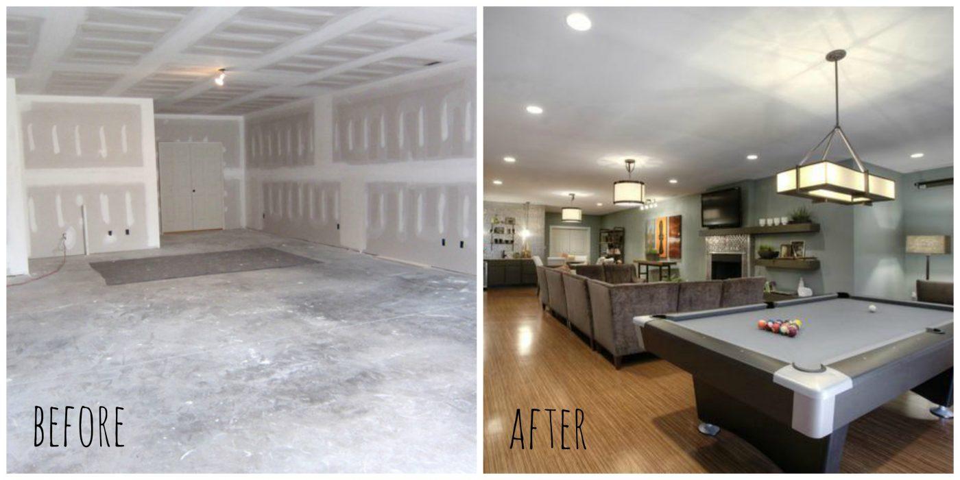 amazing finished basement ideas for 2018 decor or design. Black Bedroom Furniture Sets. Home Design Ideas