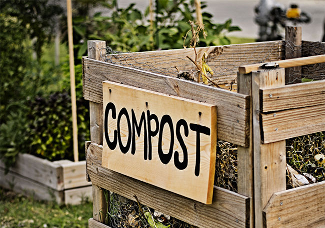 home gardening composting