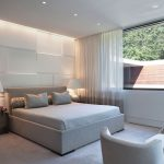 cool modern master bedroom