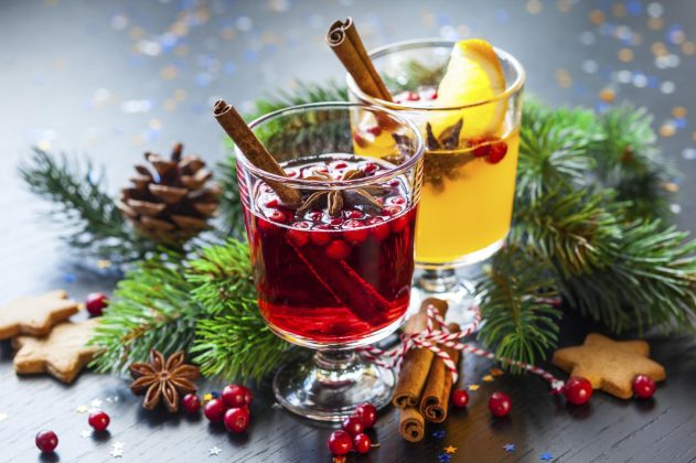 Christmas Punch - non alcoholic christmas punch