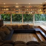 smart sunken living room