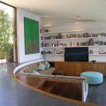 nice sunken living room