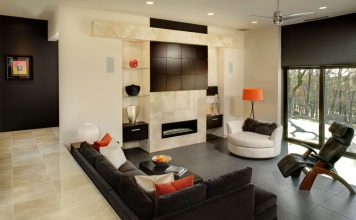 sunken living room designs