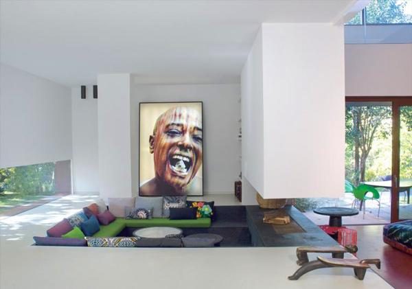 sunken living room colors