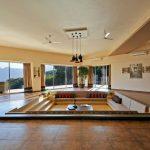 new sunken living room