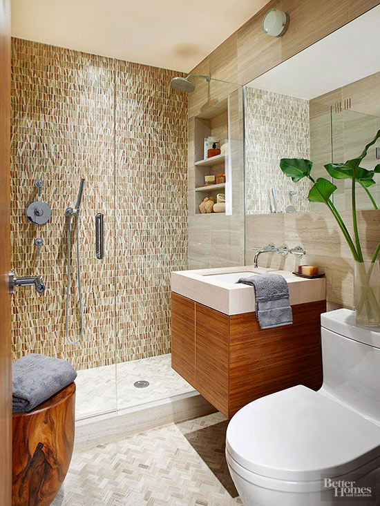walk-in showers for small bathroom