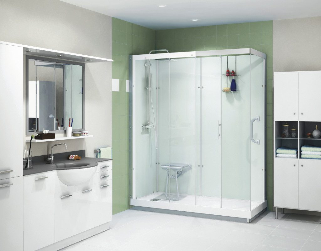 Walk-in showers for the elderly