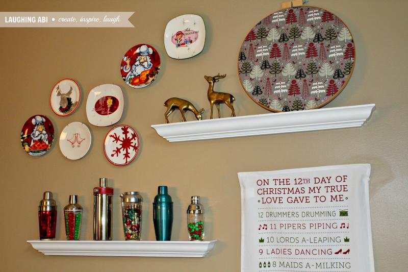 Christmas wall decor ideas pinterest