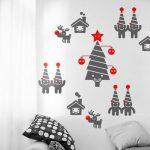 amazing Christmas wall decor ideas
