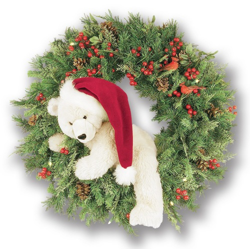 Christmas wreath ideas UK
