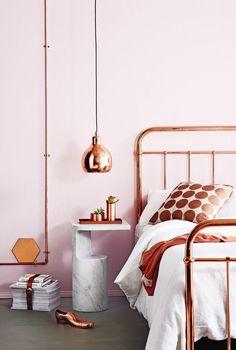 Metallic bedroom color schemes
