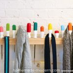 coat rack ideas pinterest