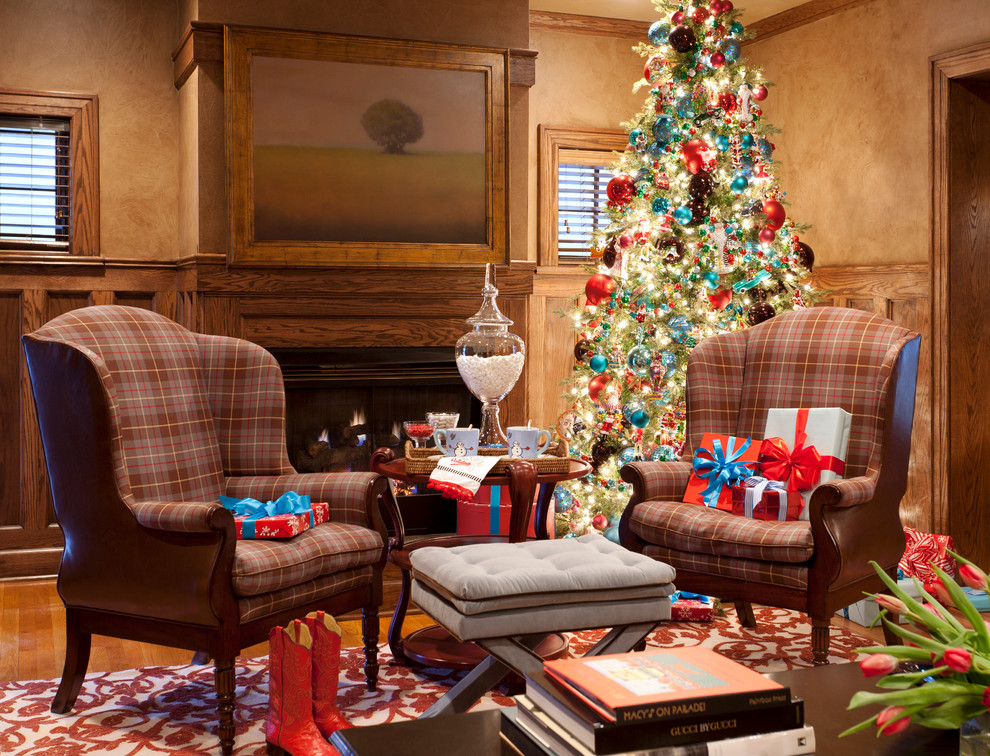 decorating living room for Christmas tips