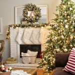 2018 Christmas decorations for living room
