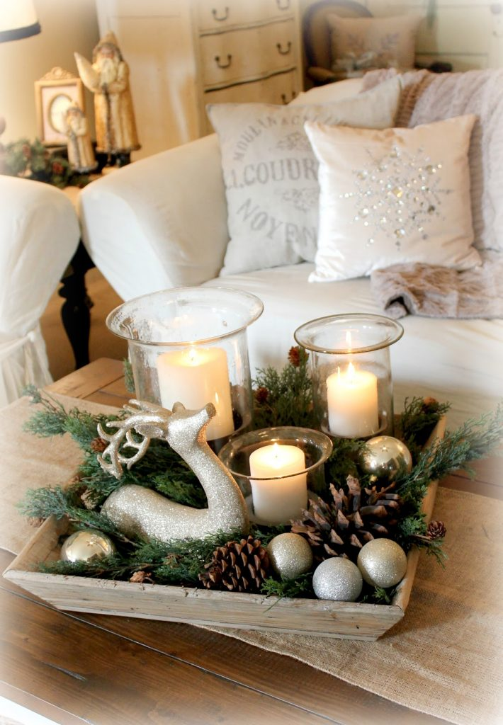 decorating living room for Christmas ideas 20