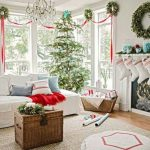 Decorating Living Room for Christmas 2018