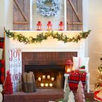amazing farmhouse Christmas decor