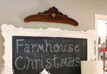 best farmhouse christmas decor ideas 2017