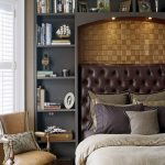 Master bedrooms with built-in shelving pinterest