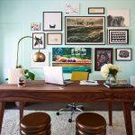 modern Midcentury home office ideas