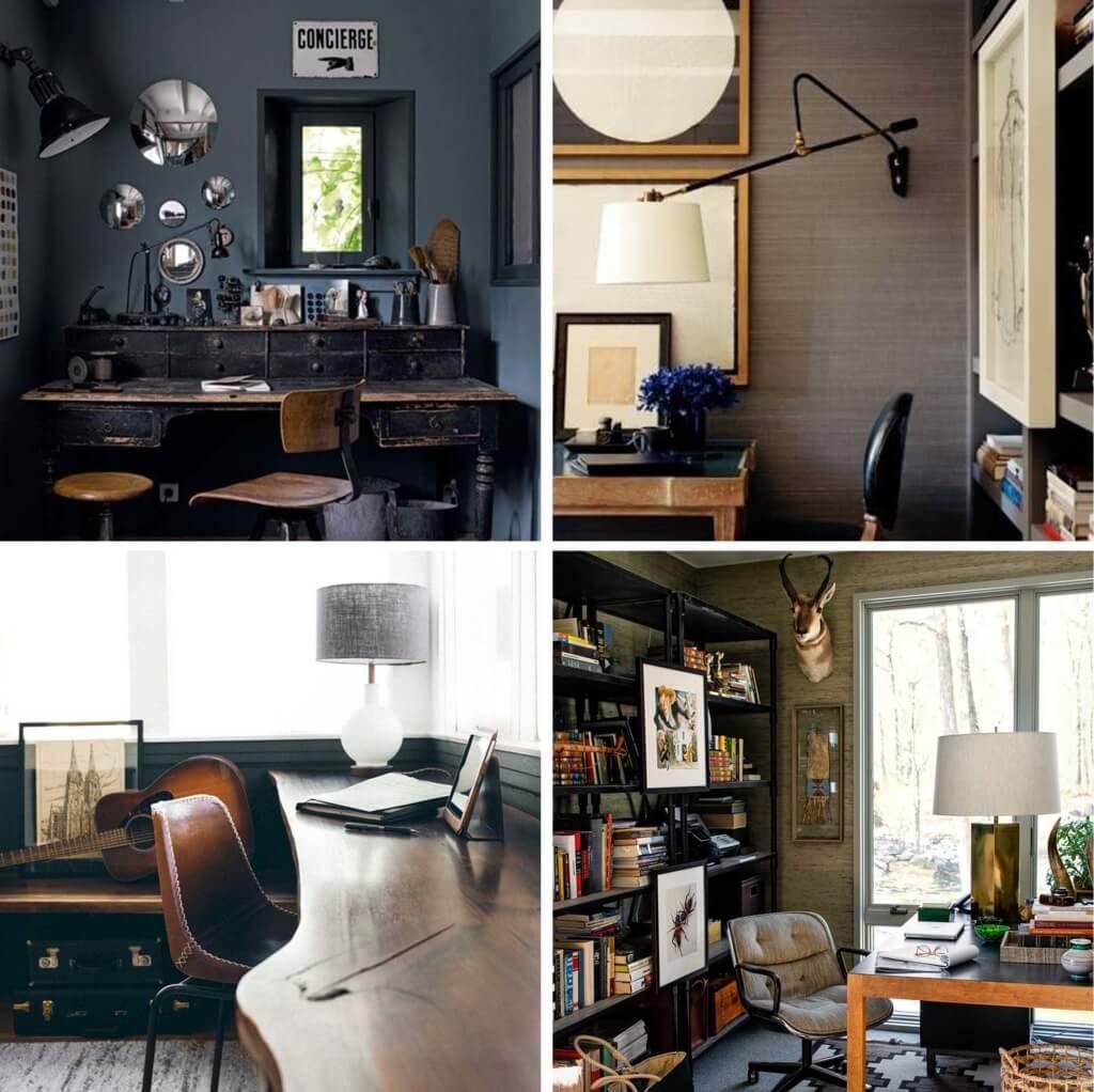 amazing Midcentury home office ideas