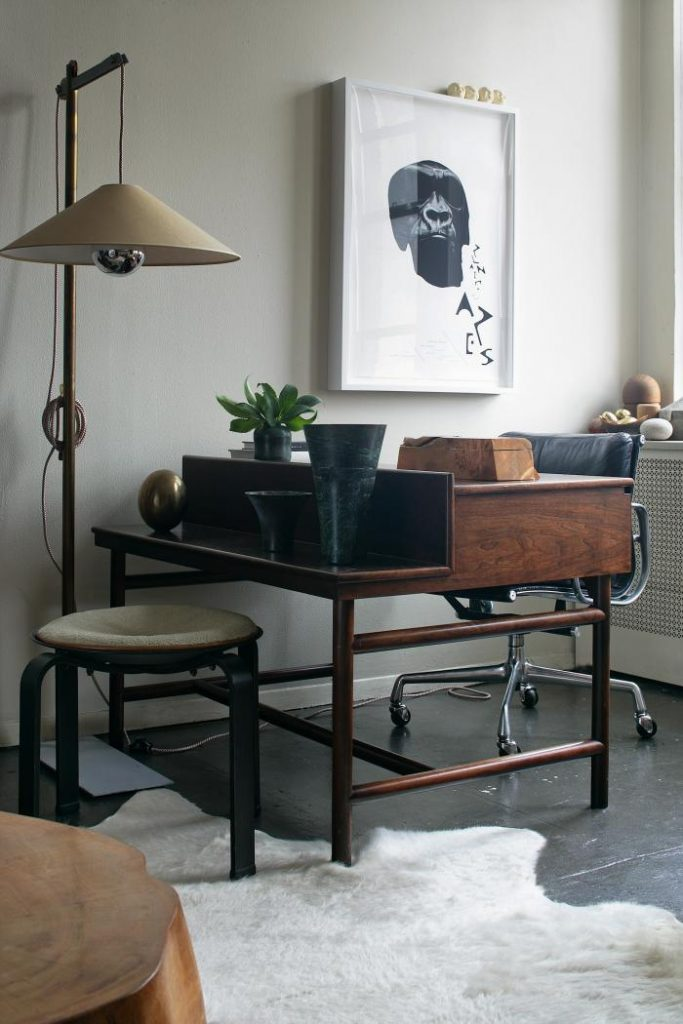 nice Midcentury home office ideas 12