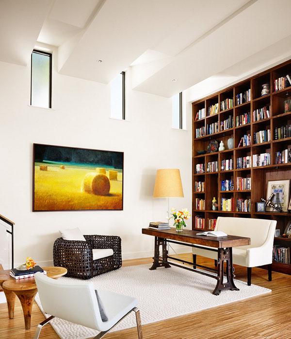amazing Midcentury home office ideas 19