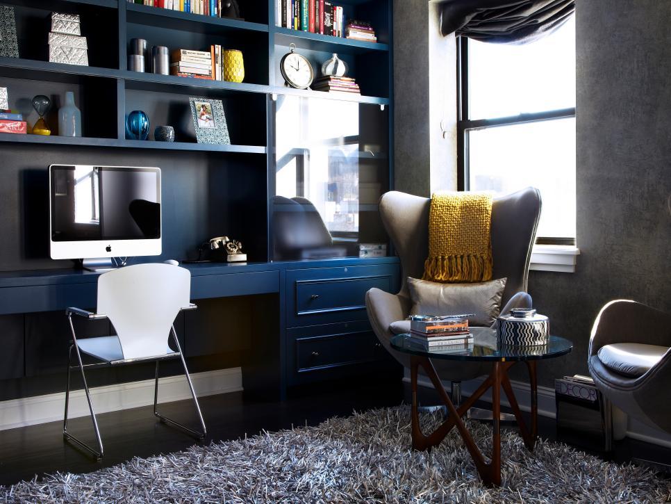 nice Midcentury home office ideas 20