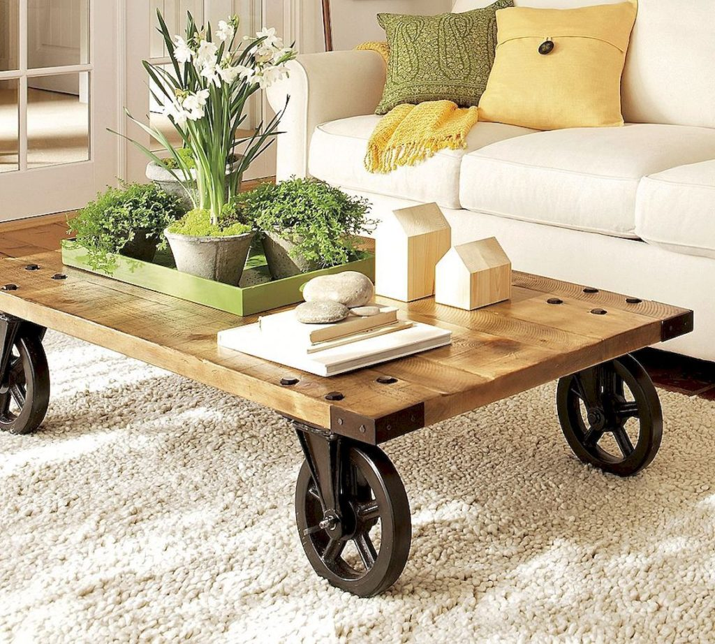 Diy Farmhouse Coffee Table Ideas And Tips Decor Or Design
