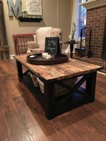 Diy Farmhouse Coffee Table Ideas And Tips Decor Or Design