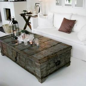 DIY farmhouse coffee table ideas pinterest
