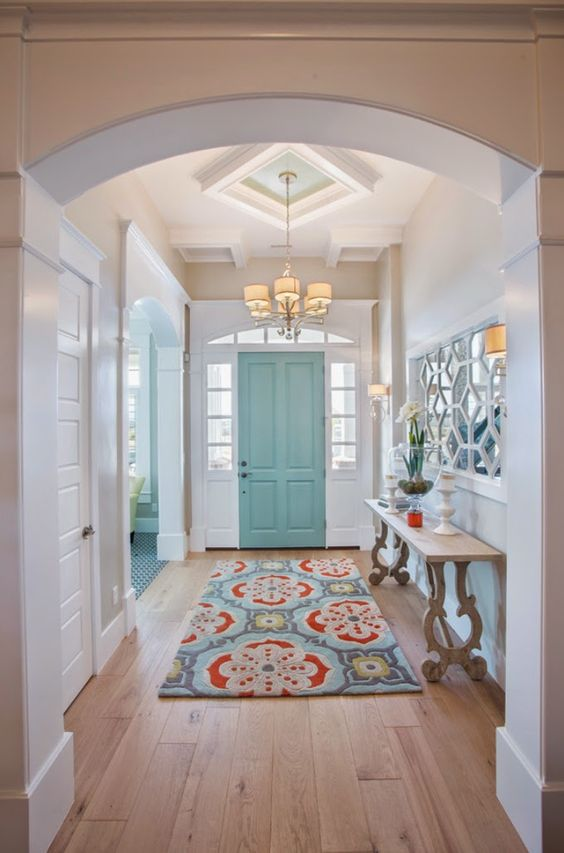 farmhouse foyer ideas pinterest