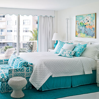 new aqua bedroom ideas