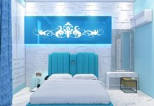 nice aqua bedroom ideas