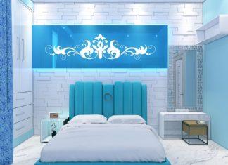 nice aqua bedroom ideas