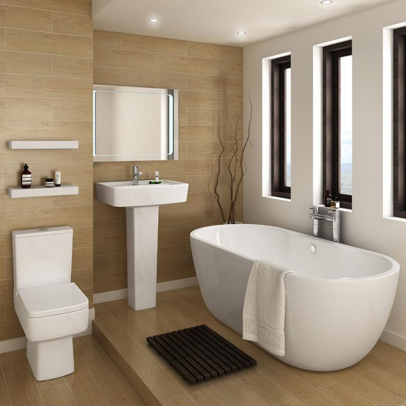 Beige Bathrooms: 25+ Cool Beige Bathroom Ideas