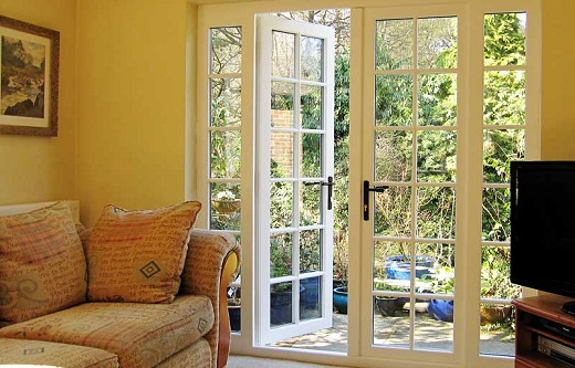 nice french doors