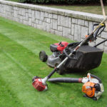 simple grass cutting